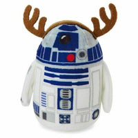 2015 Hallmark Itty Bittys r2d2 Reindeer Toys for Tots Christmas Plush - Piglet's Closet