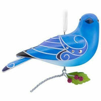 2017 Hallmark Beauty of the Birds Mountain Bluebird Keepsake Ornament - Piglet's Closet