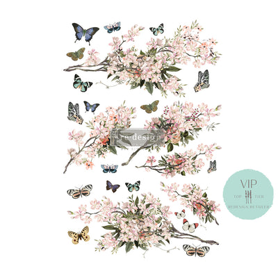 Blossom Botanica VIP Exclusive Re-design with Prima Transfer 24