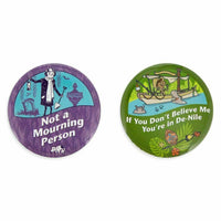 Disney Parks Haunted Mansion & Jungle Cruise Button Set - Piglet's Closet