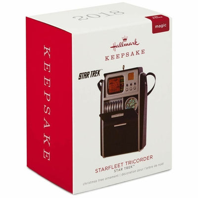 2018 Hallmark Magic Starfleet Tricorder Star Trek Keepsake Ornament - Piglet's Closet