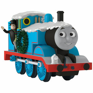 NEW 2017 HALLMARK Christmastime with Thomas the Tank Train Engine Ornament