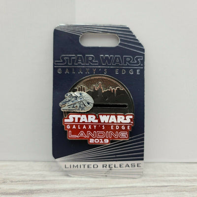 2019 Disney Star Wars Galaxy's Edge Landing Millennium Falcon LR Slider Pin - Piglet's Closet