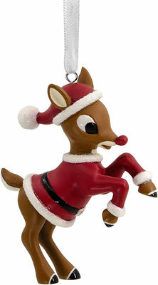 Hallmark Rudolph the Red Nosed Reindeer Resin Christmas Ornament - Piglet's Closet