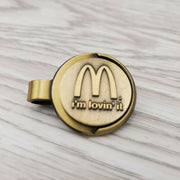 Vintage Mcdonald's I'm Lovin' It Magnetic Scarf Uniform Clip - Piglet's Closet