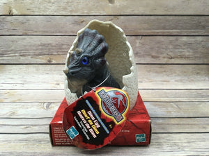 Hasbro 2000 Jurassic Park III Triceratops Electronic Dino Egg #29385 - Piglet's Closet