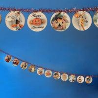 Bethany Lowe Designs Halloween Disc Tinsel Garland