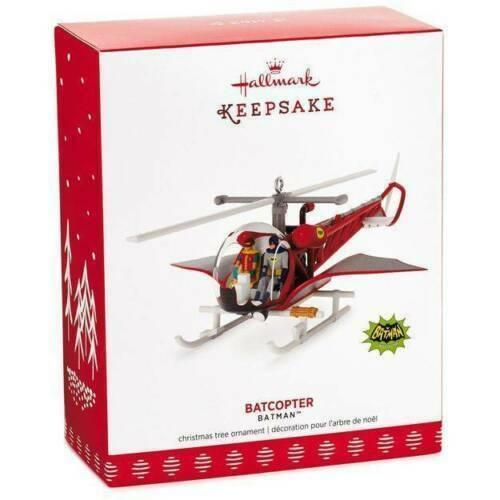 2017 Hallmark Keepsake Batman Batcopter Ornament - Piglet's Closet