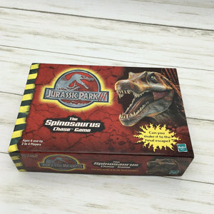 Hasbro Jurassic Park III Spinosaurus Chase Card Board Game 2001 World 40139 - Piglet's Closet