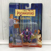 1995 Mattel Disney Pocahontas John Ratcliffe PCV Action Figure Toy