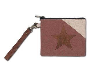CTW Colonial Tin Works Canvas Star Primitive Wristlet - Piglet's Closet