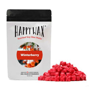 Happy Wax 8 oz Half Pound Teddy Bear Seasonal Scented Wax Melts - Winterberry - Piglet's Closet