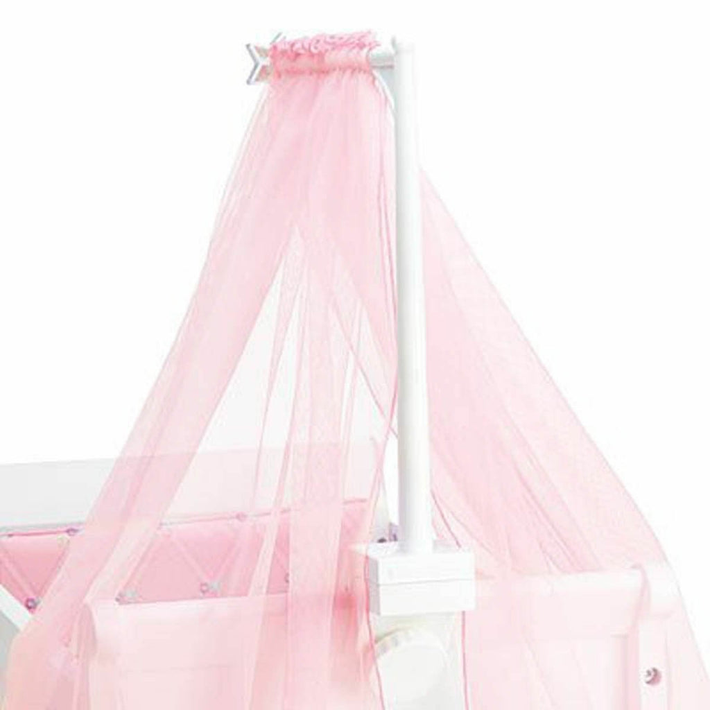 American Girl  Bitty Baby Sweet & Soft Canopy Pink F6309-FF1A - Piglet's Closet