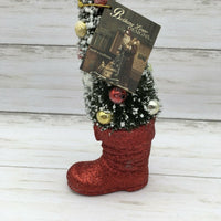 Bethany Lowe Halloween Traditional Christmas Tree in Boot