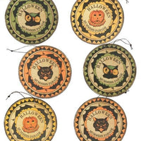 Bethany Lowe Designs Halloween Mummer's Medallion Ornament