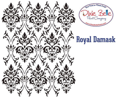 Dixie Belle Royal Damask 16