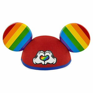Disney Parks Rainbow Pride Mickey Mouse Adult Ear Hat - Piglet's Closet