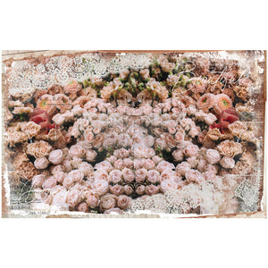 Beautiful Dream - Re-design by Prima Floral Mulberry Tissue Decoupage Paper - Piglet's Closet