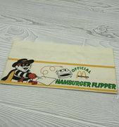 Vintage 1988 McDonald's Official Hamburger Flipper Paper Cap Hat Hamburglar - Piglet's Closet