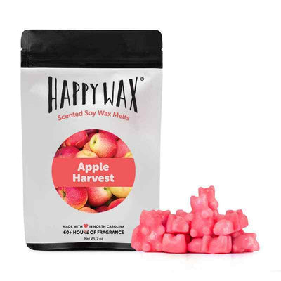 Happy Wax Apple Harvest 2 oz Teddy Bear Scented Wax Melts - Piglet's Closet