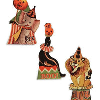 Bethany Lowe Designs Halloween Big Top Circus Dummy Board Figure Set