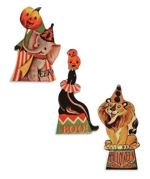 Bethany Lowe Designs Halloween Big Top Circus Dummy Board Figure Set - Piglet's Closet