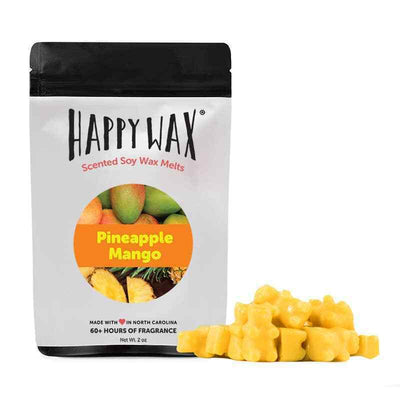Happy Wax Pineapple Mango 2 oz Teddy Bear Scented Wax Melts - Piglet's Closet