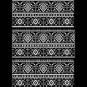 "Re-design Prima Black and White Folk II Decor Furniture Transfer 24"" x 33"" - Piglet's Closet"