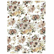 "Re-design Prima Sunflower Farms Autumn Decor Furniture Transfer 23"" x 30"" - Piglet's Closet"