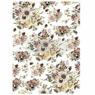Re-design Prima Sunflower Farms Autumn Decor Furniture Transfer 23