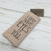 "Colonial Tin Works ""I Only Have Eyes for You "" Eye Sun Glasses Case"