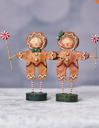 Lori Mitchell Christmas Gingerbread Boy & Girl Figurine - Piglet's Closet