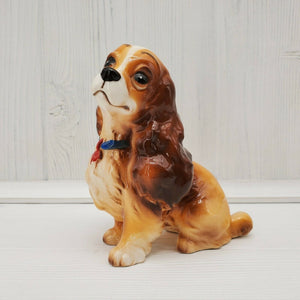 Vintage Walt Disney Lady and the Tramp Lady Dog Ceramic Figurine - Piglet's Closet