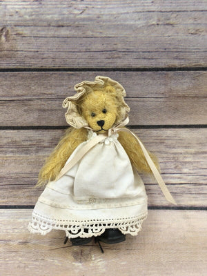 Handmade Distressed Mohair Jointed Bear 5