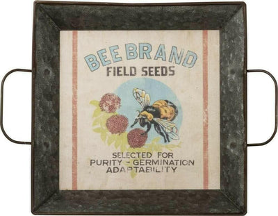 Primitives By Kathy Bee Brand Field Seeds Farmhouse Tray - Piglet's Closet