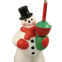 Bethany Lowe Christmas Retro Bubble Light Snowman Decor - Piglet's Closet