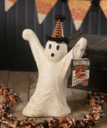 Bethany Lowe Designs Halloween Spooky Soiree Ghost MD Paper Mache Figurine - Piglet's Closet