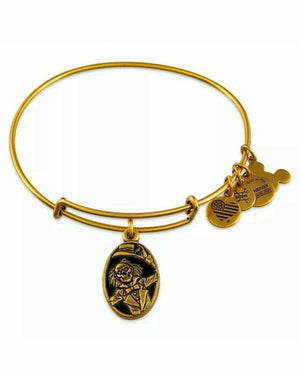 Alex and Ani Haunted Mansion 50th Anniversary Disney Parks Gold Tone Bracelet - Piglet's Closet