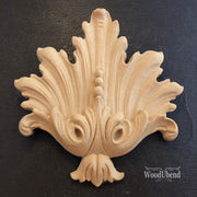 Woodubend Decorative Plume #1721 Moulding Furniture Applique - Piglet's Closet