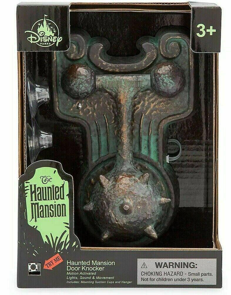 Disney Haunted Mansion Door Knocker 50TH Anniversary Light and Sound - Piglet's Closet
