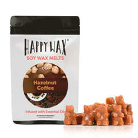 Happy Wax Hazelnut Coffee 2 oz Teddy Bear Scented Wax Melts - Piglet's Closet