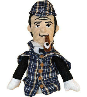 Sherlock Holmes Magnetic Personality Finger Puppet Novelty Gag UPG Gift - Piglet's Closet
