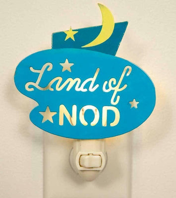 CTW Land of Nod Wall Night Light Metal Retro Room Lighting - Piglet's Closet