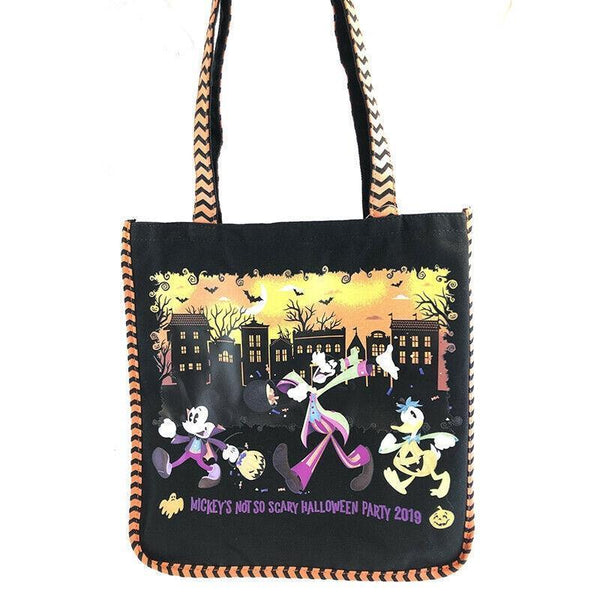 Mickey's Not So Scary Halloween Party 2019 Magic Kingdom Disney Parks Tote Bag - Piglet's Closet