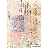 "Redesign with Prima Decor Transfer - Floral Gardens 24"" x 34"""