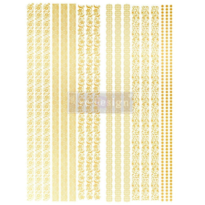 Redesign with Prima Decor Transfer - Gilded Inlay Scroll 17