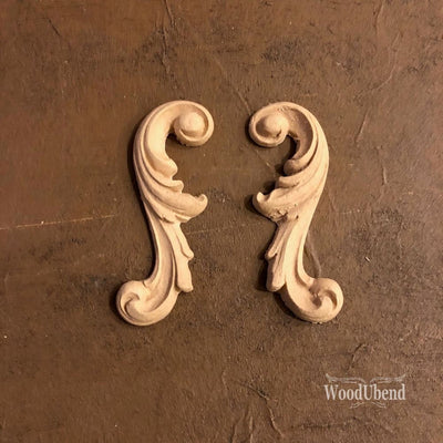 Woodubend Decorative Scrolls #1650 Moulding Furniture Applique - Piglet's Closet