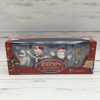 "2017 Beverly Hills ""Rudolph The Red Nosed Reindeer"" 4 Figurine Pack - Piglet's Closet"