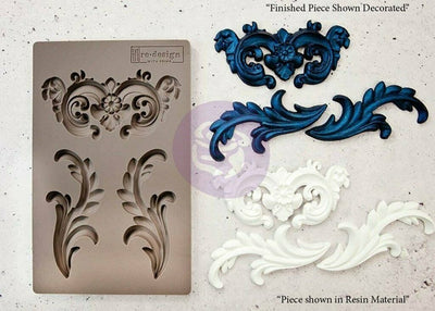 Redesign Prima Everleigh Flourish Silicone Decor Mould - Piglet's Closet