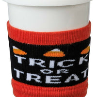 Primitives by Kathy Halloween Trick or Treat Beverage Coffee Sipper Sleeves